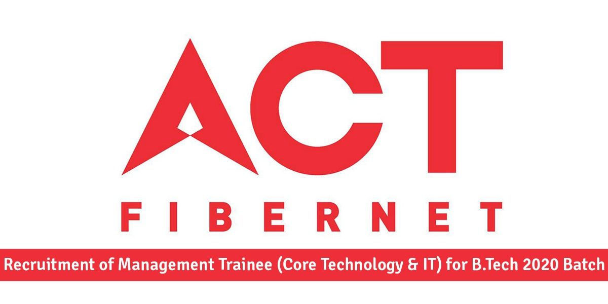 ACT Fibernet Jobs